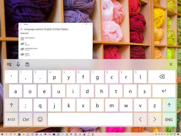 Tastaturlayout von Ihrem Gerät deinstalliert