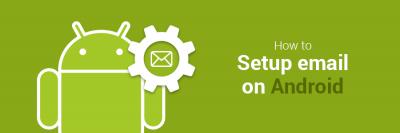 Android-Gerät  E-Mail-App verwendet